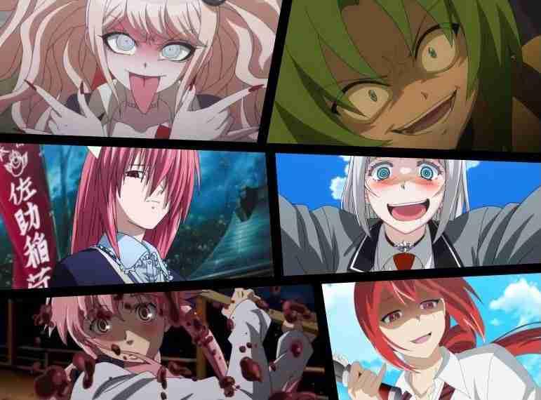 Crazy Anime Girls