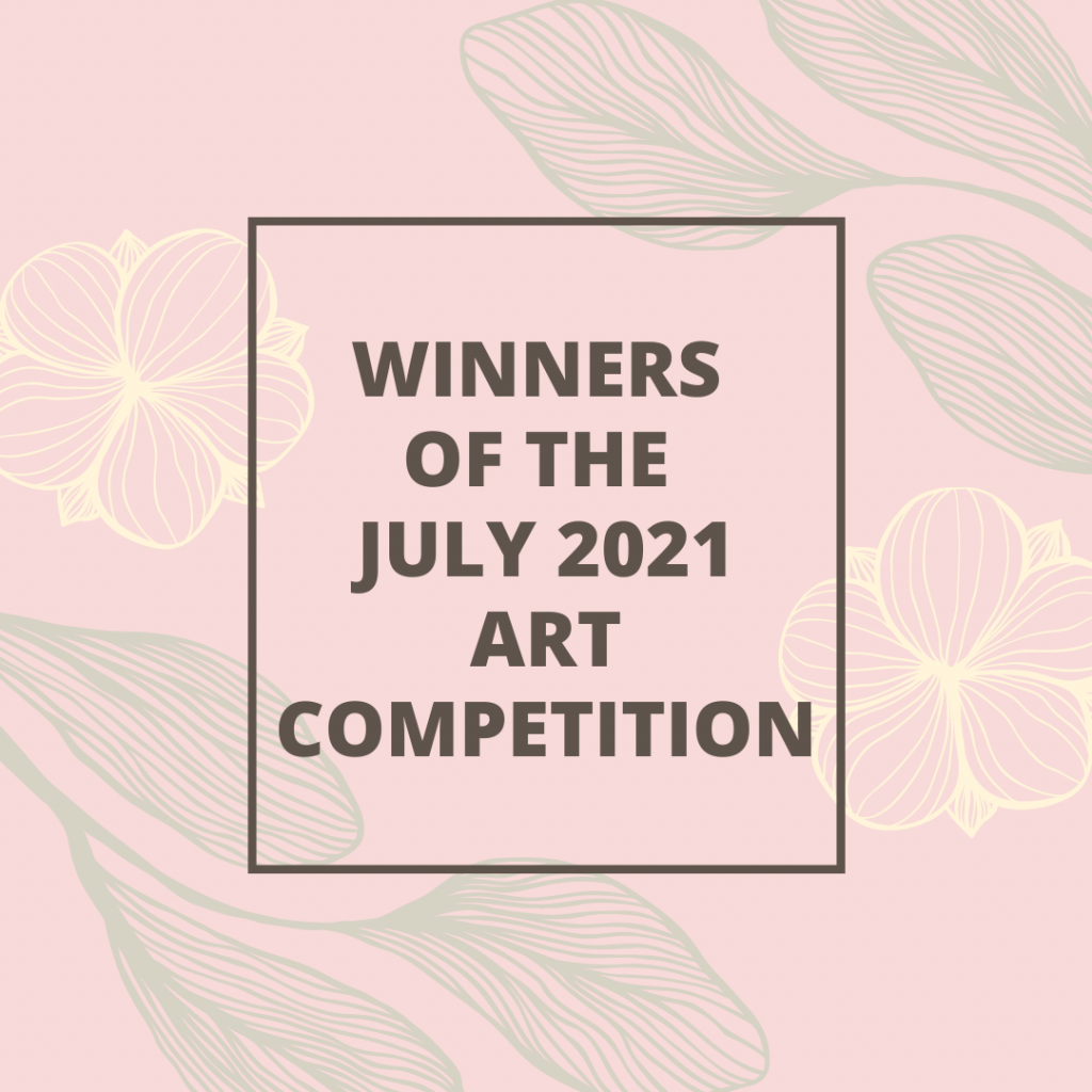 Beige Floral Giveaway Winners Instagram Post